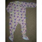 PLANET ZZZ Butterfly Print Blanket Sleeper Girls 3T