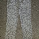 CANDY GIRL Gray Animal Print Stretch Skinny Jeans Girls Size 10