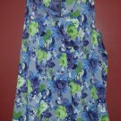 FOREVER XXI Purple Floral Sleevless Blouse Ladies SMALL