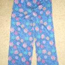 Blue BAKUGAN Flannel Sleep Pants Boys Size 8