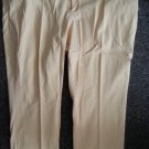 MAINSTREET BLUES Yellow Stretch Bootcut Denim Jeans Womans Plus Size 32W