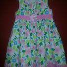 SOPHIE FAE Floral Print Sleeveless Dress Girls Size 4T