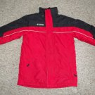 COLUMBIA Red and Black Winter Parka Boys Size 14-16