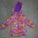 WEATHERPROOF Floral print Hooded Puffer Winter Jacket Parka Girls Size 18 months