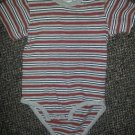 CIRCO Red and Gray Short Sleeved Onzie Top Boys 18 months