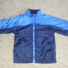 Reversible Blue FADED GLORY Fleece Jacket Boys Size 4T