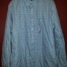 NWT Gray Plaid Long Sleeved Button Front Shirt CLAIBORNE Slim Fit Size 2X