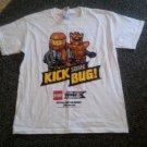 NEW White LEGO Galaxy Squad Short Sleeved Top Boys Youth MEDIUM 12-14