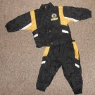 Boston BRUINS Lined Wind Suit Jacket and Pants Size 24 months