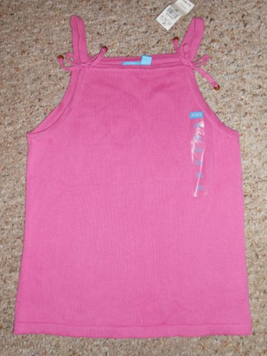 NWT Pink Knit Tank Top Girls Size 14 XL THE CHILDREN�S PLACE