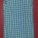 ANN TAYLOR LOFT Blue Green Floral Print Sleeveless Dress Ladies Size 4