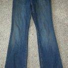 OLD NAVY Bootcut Denim Jeans Girls Size 10 Adjustable Waist