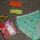 BRAND NEW Lot of HANES Cotton Brief Style Panties Girls Size 10