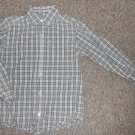 THE CHILDREN'S PLACE Tan Plaid Long Sleeved Button Front Shirt Boys Size 5-6 S