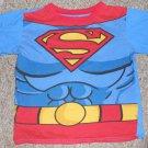 Blue SUPERMAN Short Sleeved Top Boys Size 8