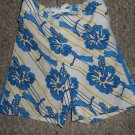 PUMA Blue Tropical Print Trunk Style Bathing Suit Boys Size 24 months