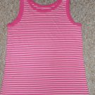 GAP KIDS Pink Striped Tank Top Girls Size 10