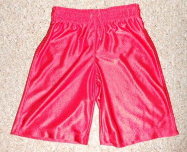 THE CHILDREN�S PLACE Red Dri Fit Athletic Shorts Boys Size 7-8