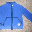 BABY GAP Blue Zip Front Fleece Jacket Size 4
