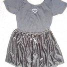 JACQUES MORET Black Leotard and Chiffon Dance Skirt Girls Size 8-10 Medium