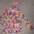 THE CHILDREN'S PLACE Retro Print Hooded Fleece Pullover Girls Size 10-12 L