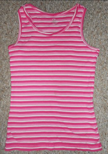 THE CHILDREN�S PLACE Pink Striped Tank Top Girls Size 10-12