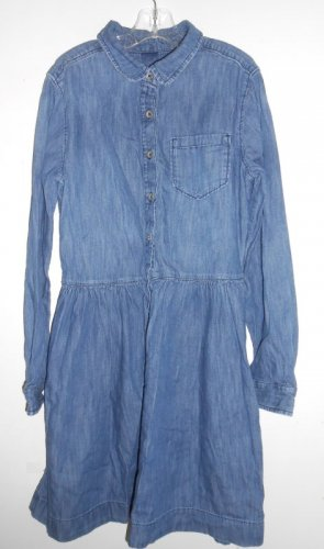 GAP KIDS Long Sleeved Denim Dress XL Girls Size 12