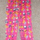 SWEET N SASSY Pink Smiley Face BFF Sleep pants Girls Size 14-16
