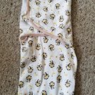 SWADDLE ME Monkey Print Swaddle LARGE 14-20 Pounds 3-6 months