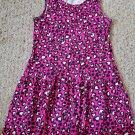 FADED GLORY Pink Heart Print Sleeveless Dress Girls Size 10-12
