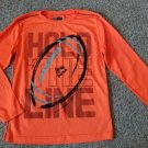 RBX PERFORMANCE Orange Dri Fit Long Sleeved Boys Top Size 10-12