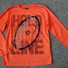 RBX PERFORMANCE Orange Dri Fit Long Sleeved Boys Top Size 10-12