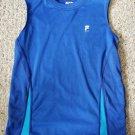 FILA Blue Sleeveless Dri Fit Boys Top Size 10-12