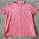 OLD NAVY Heather Red Short Sleeved Polo Shirt Boys Size 10-12