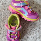 Purple and Pink STRIDE RITE Made2Play Sneakers Toddler Girls Size 5.5