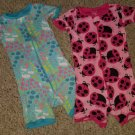 THE CHILDREN'S PLACE Lot of Shortie Romper Pajamas Girls Size 3T