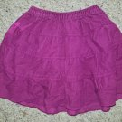 OLD NAVY Purple Corduroy Tiered Skirt Girls 6-12 months