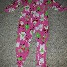 CARTER'S Pink SANTA Fleece Blanket Sleeper Size 24 months
