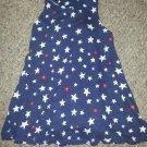 OLD NAVY Star Print Racer Back Tank Dress Girls Size 3T