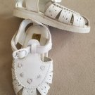 CRAYOLA White Sandals Toddler Girls Size 7