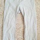 OLD NAVY Gray Lace Trim Capri Style Leggings Girls LARGE Size 12-14