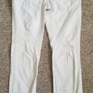 MUDD White Distressed Denim Jeans Capri Length Juniors Size 7