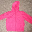 THE CHILDREN'S PLACE Pink Hooded Nylon Jacket Girls Size 3T