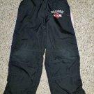 OSH KOSH Black Athletic Style Pants Boys Size 4 Flannel Lined