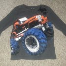 JUMPING BEANS Gray MONSTER TRUCK Long Sleeved Top Boys Size 7