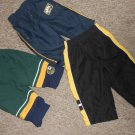 Lot of Lined Nylon Athletic Style Pants U.S. POLO Boys Size 6-12 months