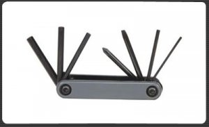 7 IN FOLDING BLCYCLE TOOL SET