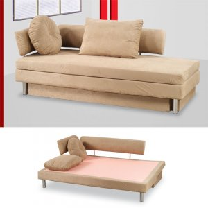 Nubo Microfiber Sofa Bed   ath_nubo_f_be (floor model)