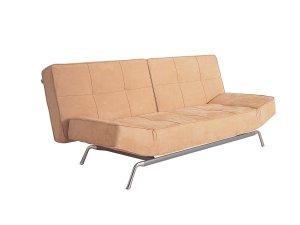 Modern Convertible Sofa in Beige    WSI_LK11