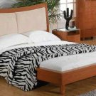 Laurencia Queen Size Modern Bed w/Leather Headboard-
